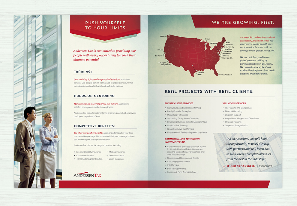the adsmith andersen tax recruitment brochure the adsmith