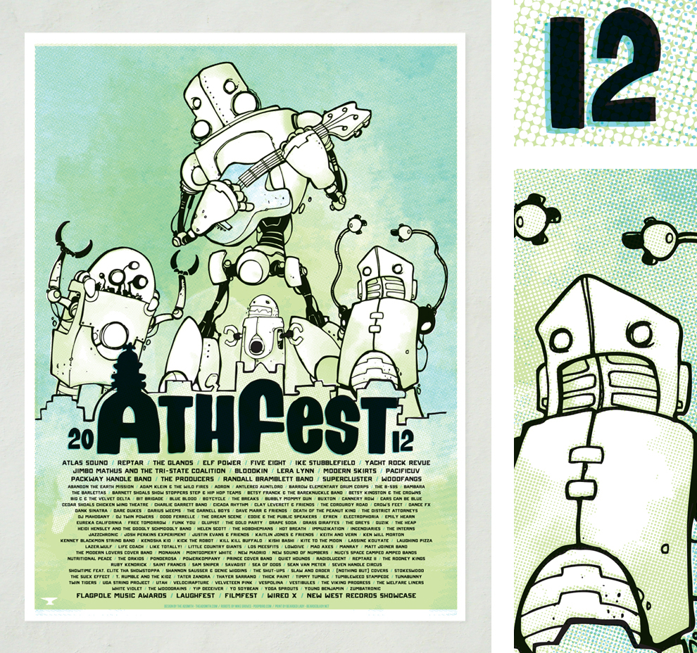 Athfest 2012 Poster