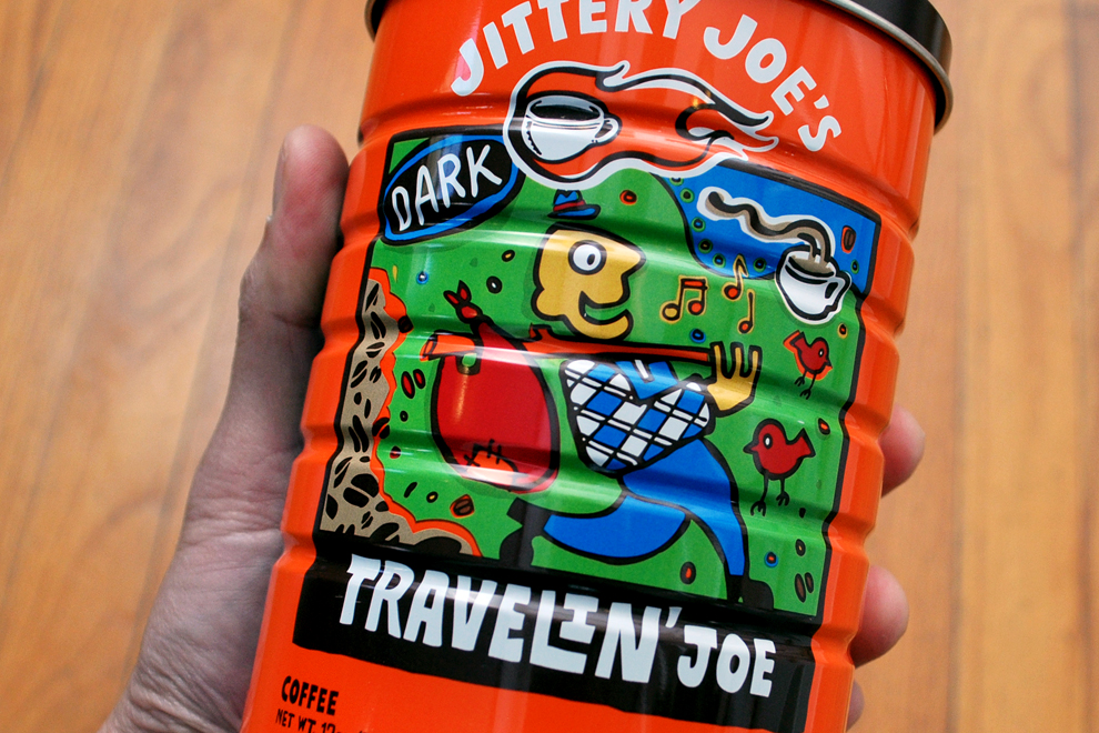 Jittery Joe's Travelin' Joe