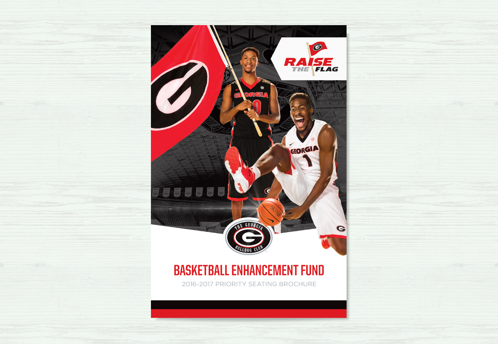 UGA Basketball Brochure