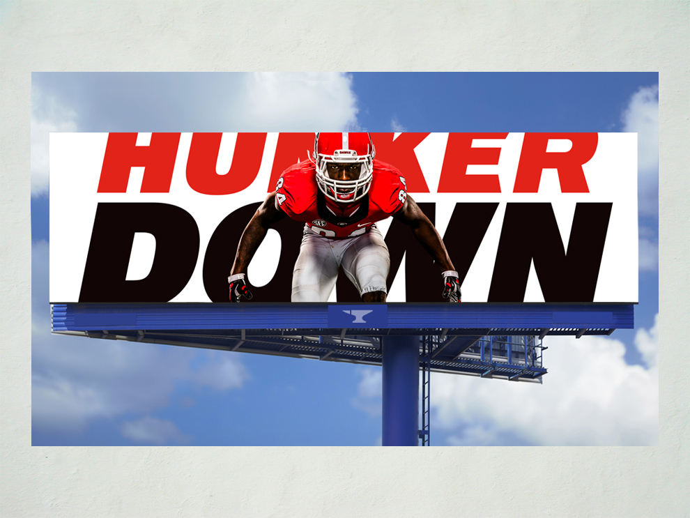 UGA Football Billboard