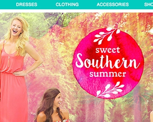 Red Dress Boutique Website