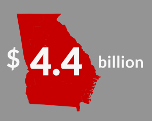 UGA's Economic Impact Map