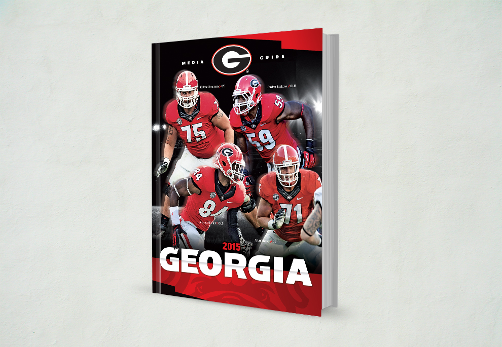 UGA Football 2015 Media Guide