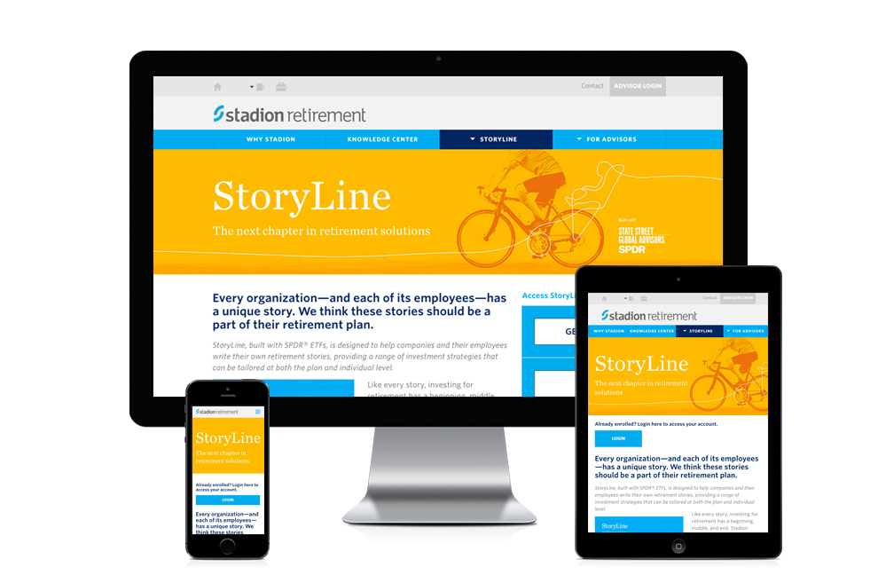 Storyline Website Screen Capture