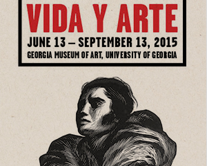 Georgia Museum of Art Vida Y Arte brochure