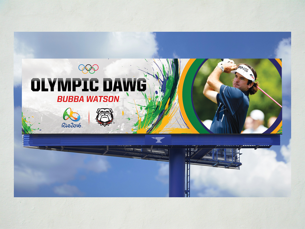 Olympic Dawgs Billboards