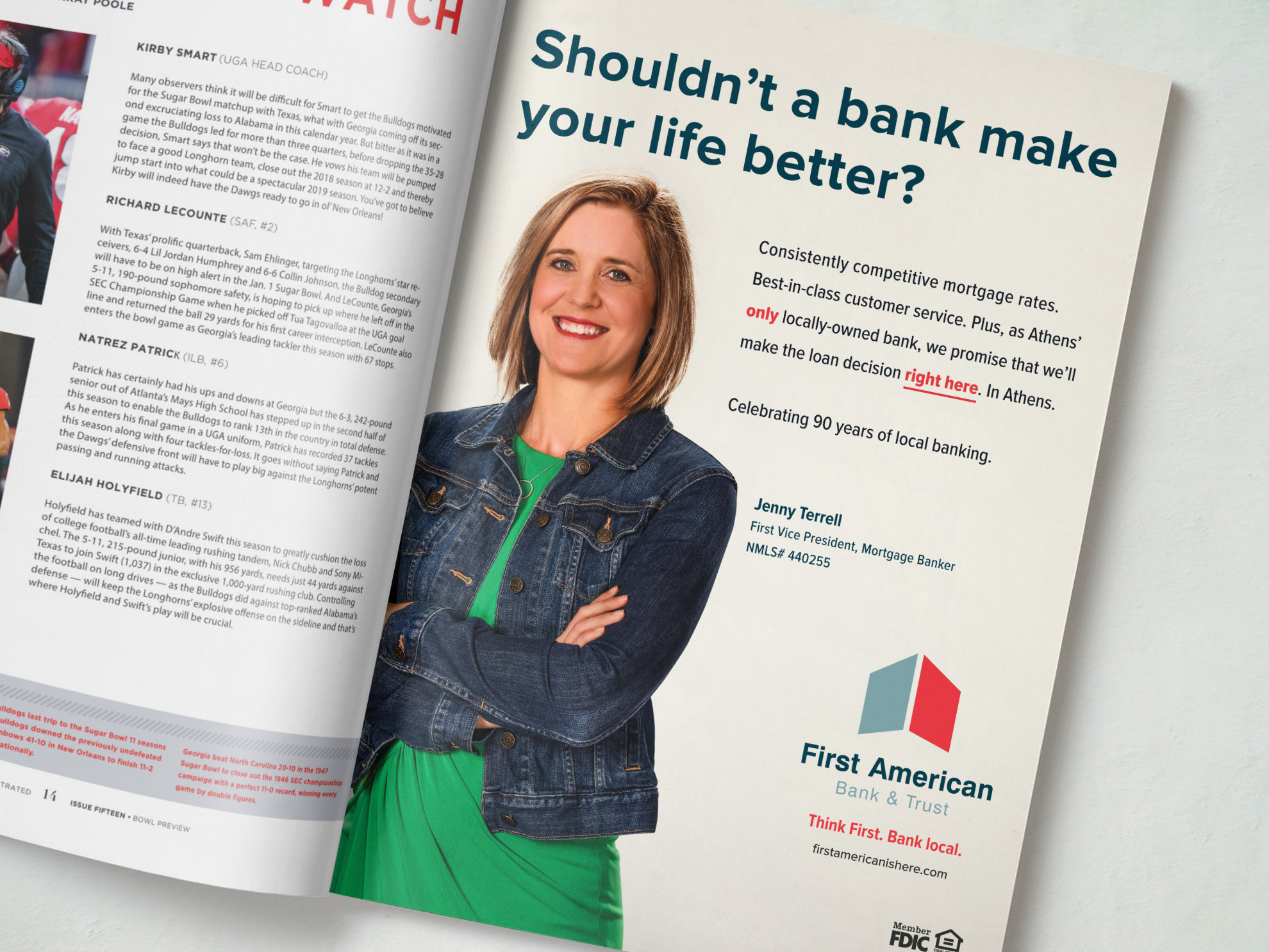 The Adsmith First American Bank & Trust | The Adsmith