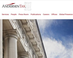 Andersen Tax Website